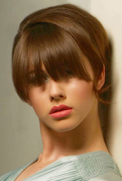 hairstyles 2011 for women with bangs. Hairstyle 2011