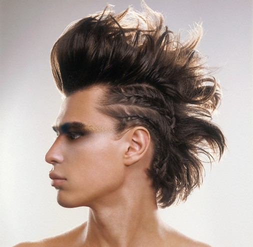 How to Rock With A Punk Hairstyle - coolmenshair.com
